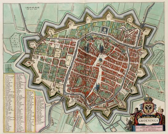 Groningen, The Netherlands. 1649