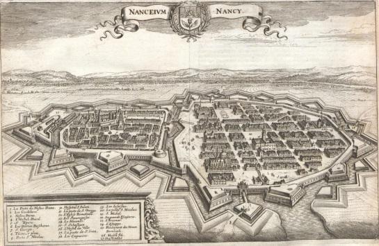 Nancy, France, 1645